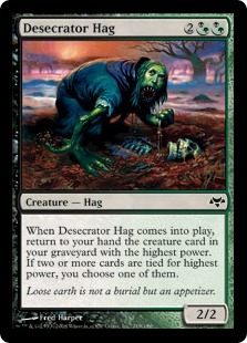 Desecrator Hag | Magic: The Gathering Card