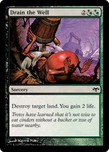 Drain the Well | Magic: The Gathering Card