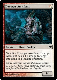 Duergar Assailant | Magic: The Gathering Card