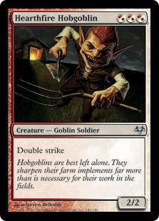 Hearthfire Hobgoblin | Magic: The Gathering Card