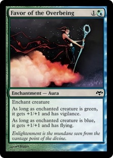 Favor of the Overbeing | Magic: The Gathering Card