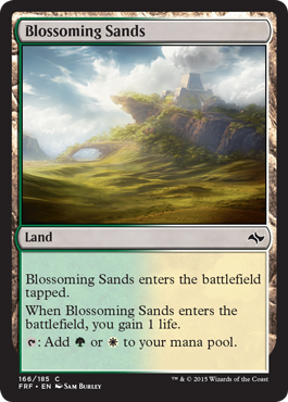 Blossoming Sands | Magic: The Gathering Card