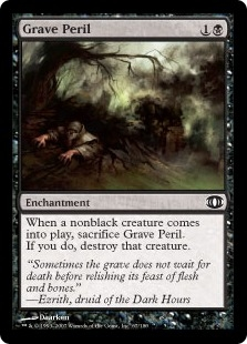 Grave Peril | Magic: The Gathering Card