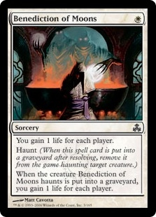 Benediction of Moons | Magic: The Gathering Card