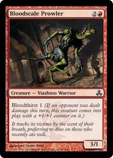 Bloodscale Prowler | Magic: The Gathering Card