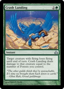 Crash Landing | Magic: The Gathering Card