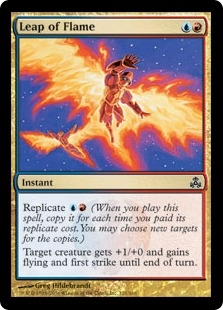 Leap of Flame | Magic: The Gathering Card