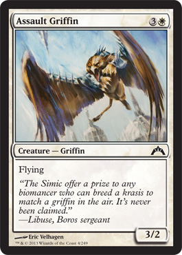Assault Griffin | Magic: The Gathering Card