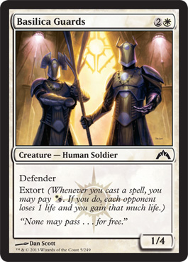 Basilica Guards | Magic: The Gathering Card