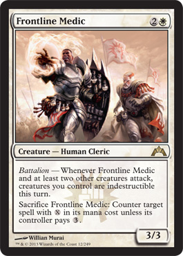 Frontline Medic | Magic: The Gathering Card