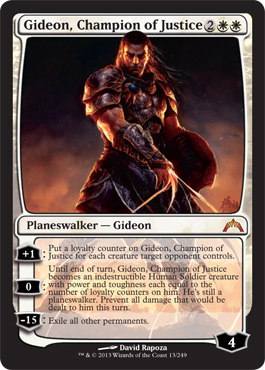 Gideon, Champion of Justice | Magic: The Gathering Card