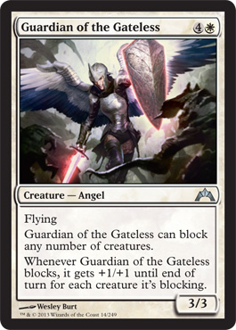 Guardian of the Gateless | Magic: The Gathering Card