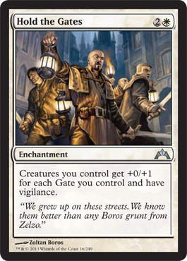 Hold the Gates | Magic: The Gathering Card