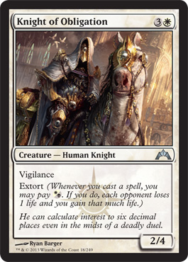 Knight of Obligation | Magic: The Gathering Card