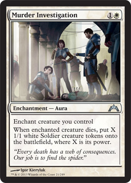 Murder Investigation | Magic: The Gathering Card