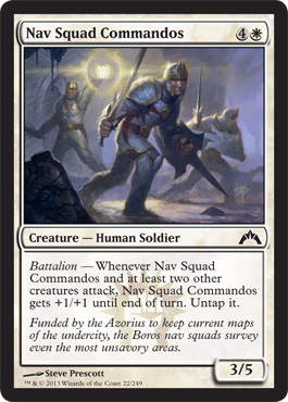 Nav Squad Commandos | Magic: The Gathering Card