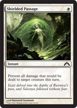Shielded Passage | Magic: The Gathering Card
