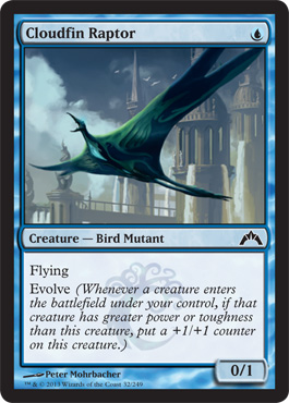 Cloudfin Raptor | Magic: The Gathering Card