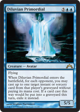 Diluvian Primordial | Magic: The Gathering Card