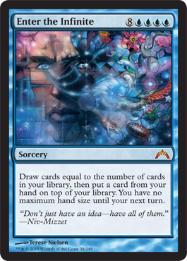Enter the Infinite | Magic: The Gathering Card