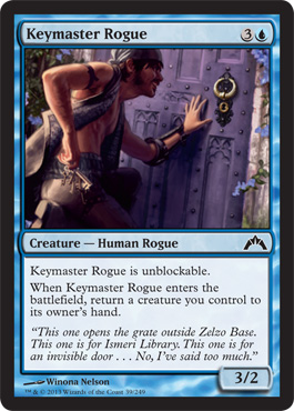 Keymaster Rogue | Magic: The Gathering Card