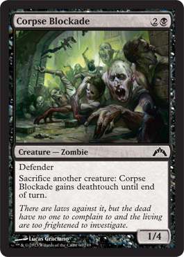 Corpse Blockade | Magic: The Gathering Card