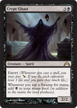 Crypt Ghast | Magic: The Gathering Card