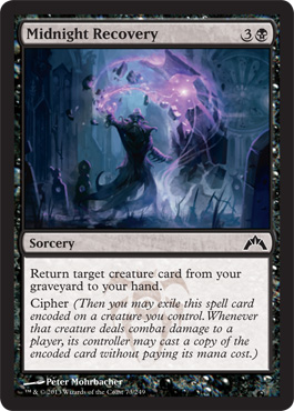 Midnight Recovery | Magic: The Gathering Card