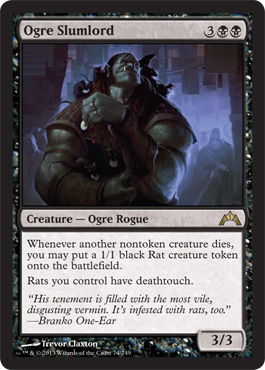 Ogre Slumlord | Magic: The Gathering Card