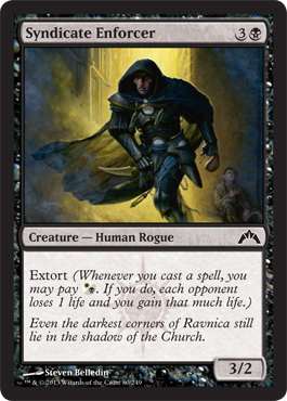 Syndicate Enforcer | Magic: The Gathering Card
