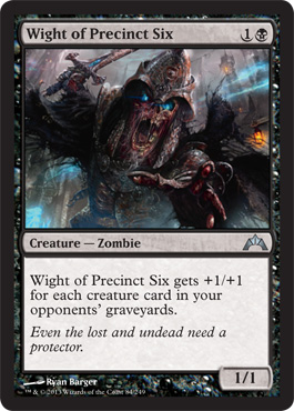 Wight of Precinct Six | Magic: The Gathering Card