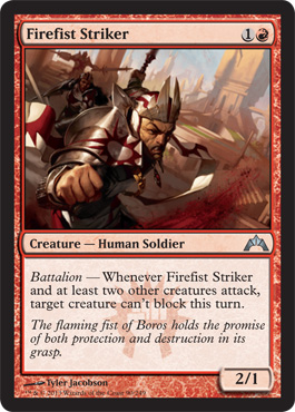 Firefist Striker | Magic: The Gathering Card