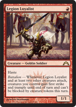 Legion Loyalist | Magic: The Gathering Card