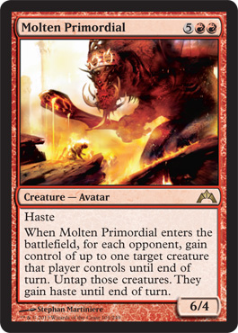 Molten Primordial | Magic: The Gathering Card