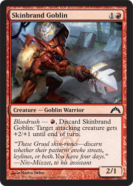 Skinbrand Goblin | Magic: The Gathering Card
