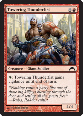 Towering Thunderfist | Magic: The Gathering Card