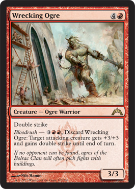 Wrecking Ogre | Magic: The Gathering Card