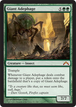 Giant Adephage | Magic: The Gathering Card