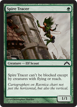 Spire Tracer | Magic: The Gathering Card