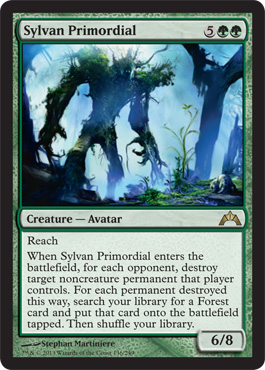 Sylvan Primordial | Magic: The Gathering Card