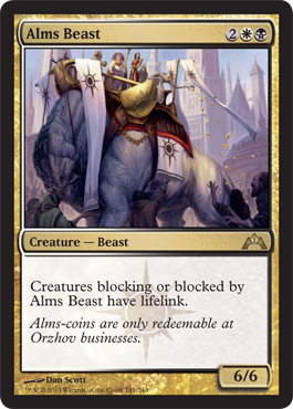 Alms Beast | Magic: The Gathering Card