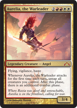 Aurelia, the Warleader | Gatecrash | Magic: The Gathering ...