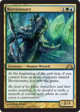 Biovisionary | Magic: The Gathering Card