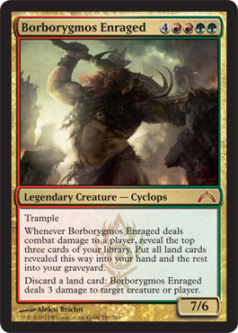 Borborygmos Enraged | Magic: The Gathering Card