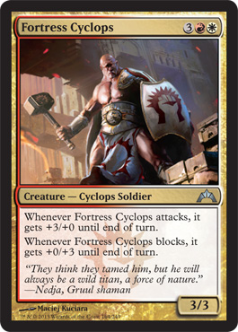 Fortress Cyclops | Magic: The Gathering Card