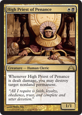 High Priest of Penance | Magic: The Gathering Card