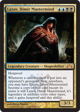 Lazav, Dimir Mastermind | Magic: The Gathering Card