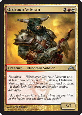 Ordruun Veteran | Magic: The Gathering Card