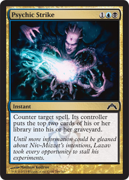 Psychic Strike | Magic: The Gathering Card