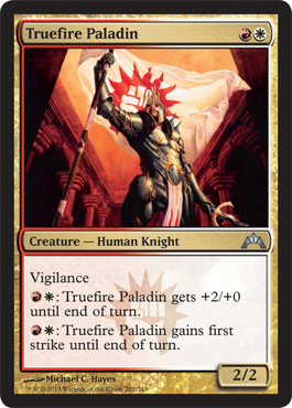 Truefire Paladin | Magic: The Gathering Card